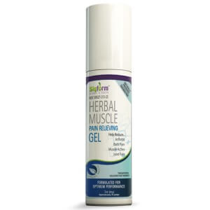 Herbal Muscle Gel – Natural Temporary Pain Relief