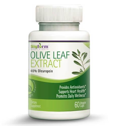 Olive Leaf Extract 60 veggie Caps