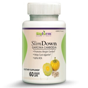 SlimDown Garcinia 60 -120 caps