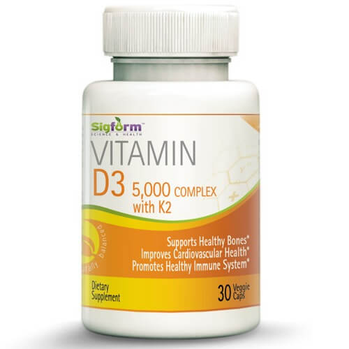 Vitamin D3 5000 complex with K2