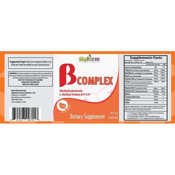 Vitamin B complex Liquid