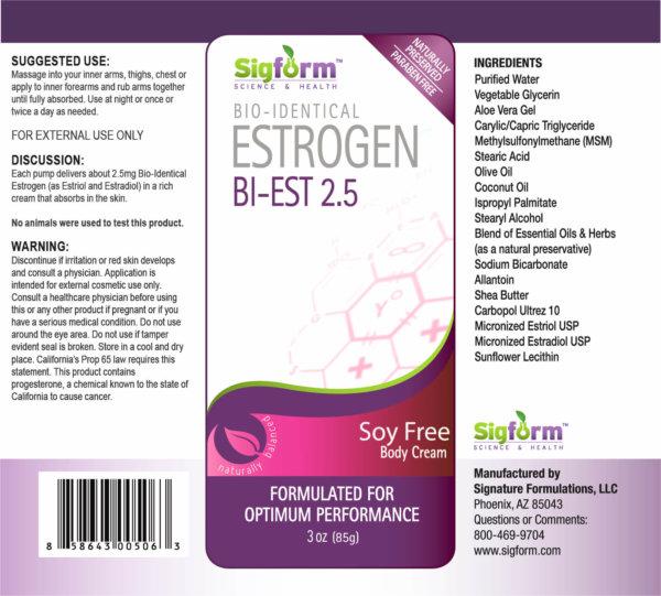 Bi-Est 80:20 Estrogen