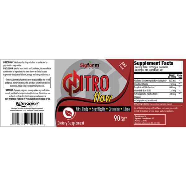 Nitro Flow Label
