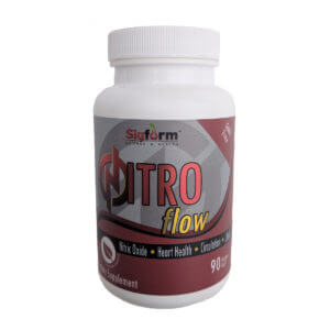 Boost nitric oxide levels with Nitro Flow