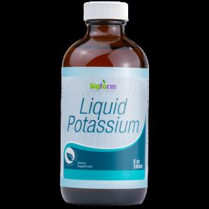 Liquid Potassium Dietary Supplement