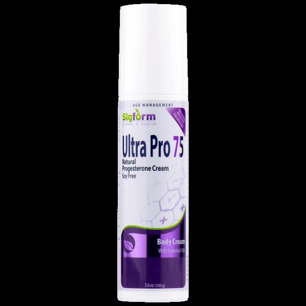 Ultra Pro 75 - Natural Progesterone Cream 1
