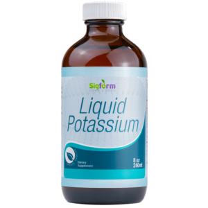 Liquid Potassium Dietary Supplement