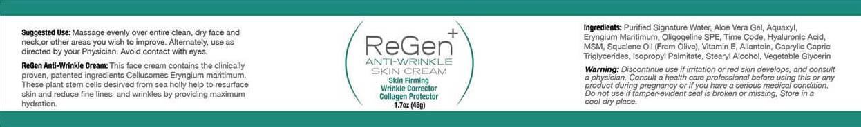 regen Anti-wrinkle cream