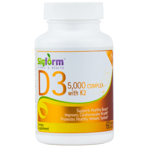 VITAMIN D3 5000 IU Complex with K2