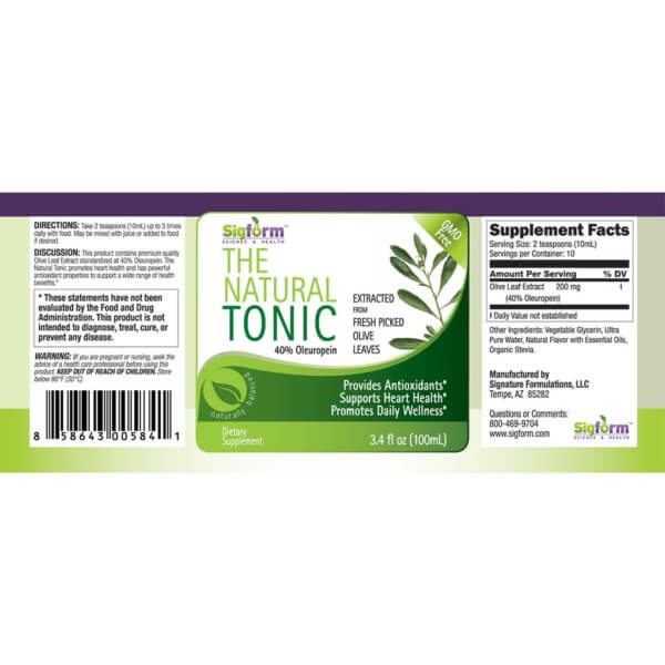 Olive Leaf Tonic-100ml
