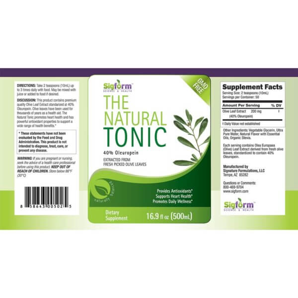 Olive Leaf Tonic-500ml